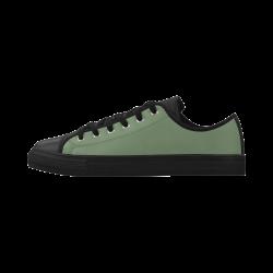 Vineyard Green Aquila Microfiber Leather Women's Shoes (Model 028)