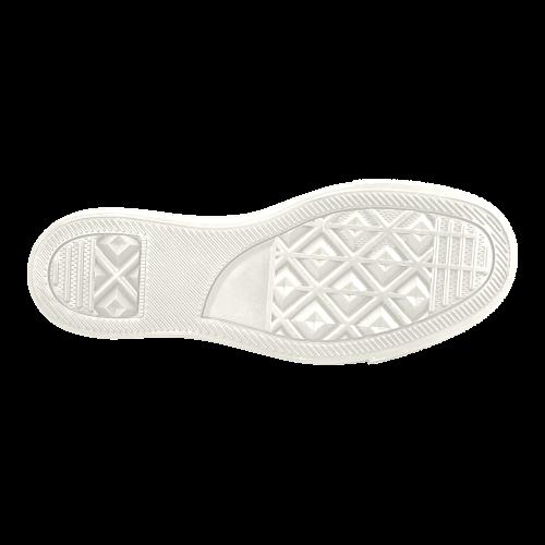 Samoyed Rockin the Rockies Women's Slip-on Canvas Shoes (Model 019)