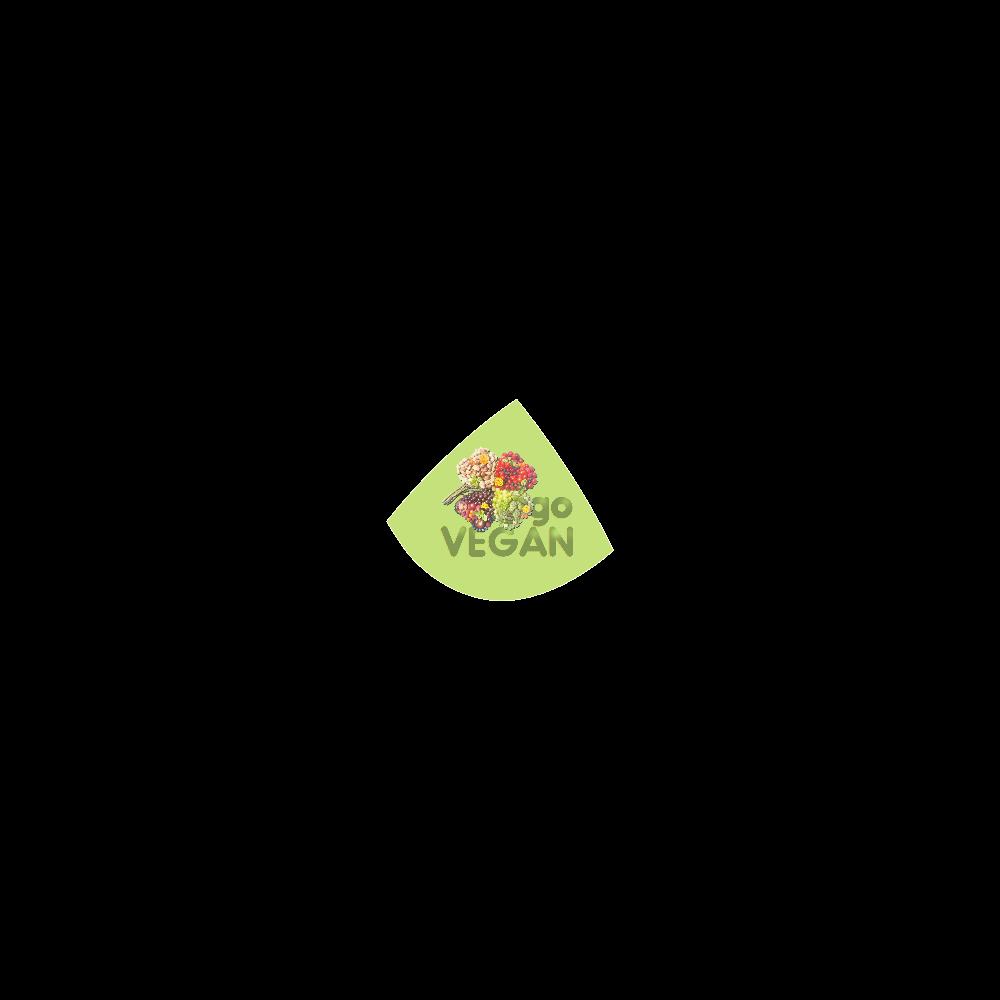 Go Vegan Clover Think Green Fruits Vegetables Custom Bikini Swimsuit