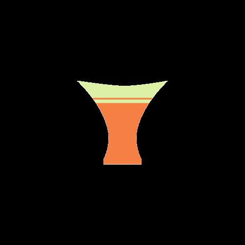 Lightgreen Orange Ribbon Custom Bikini Swimsuit