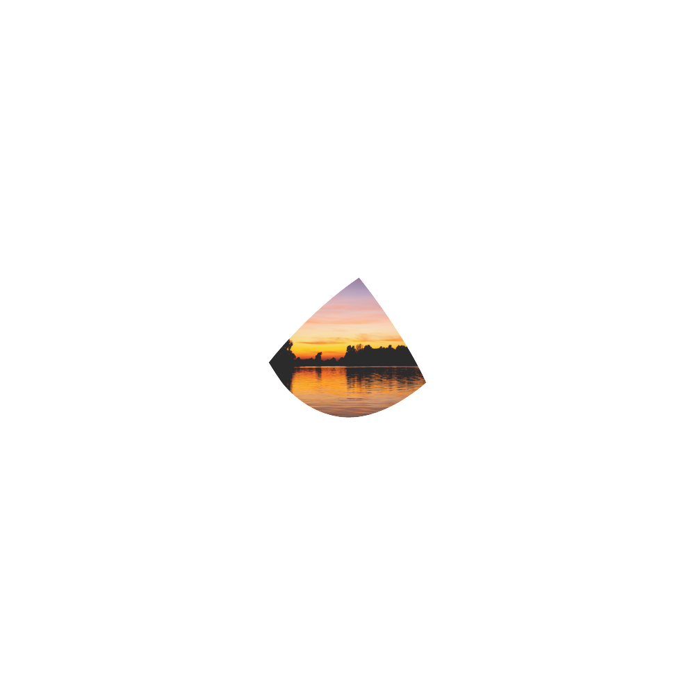 Sunset Sunrise Water Sea Romantic Light Gold Custom Bikini Swimsuit