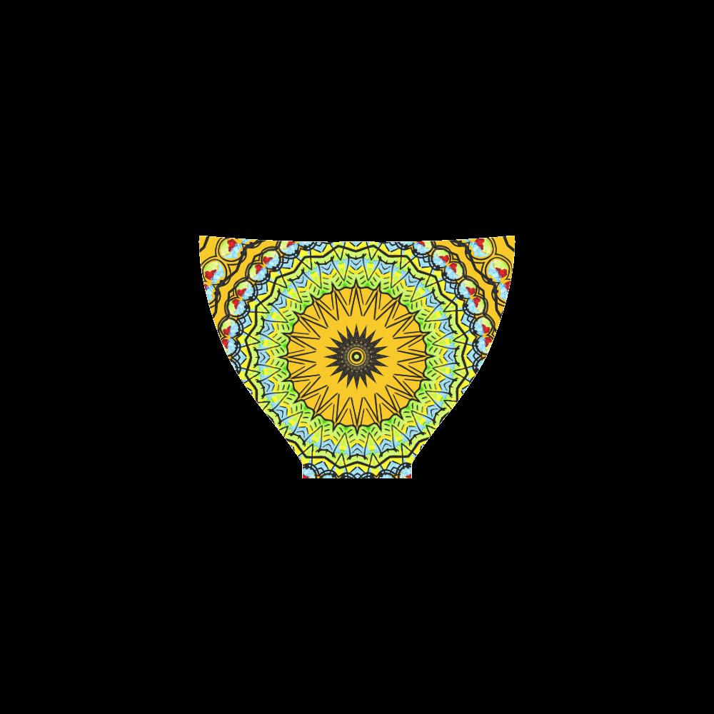 Mandala Kaleidoscope Star Dreamcatcher Custom Bikini Swimsuit