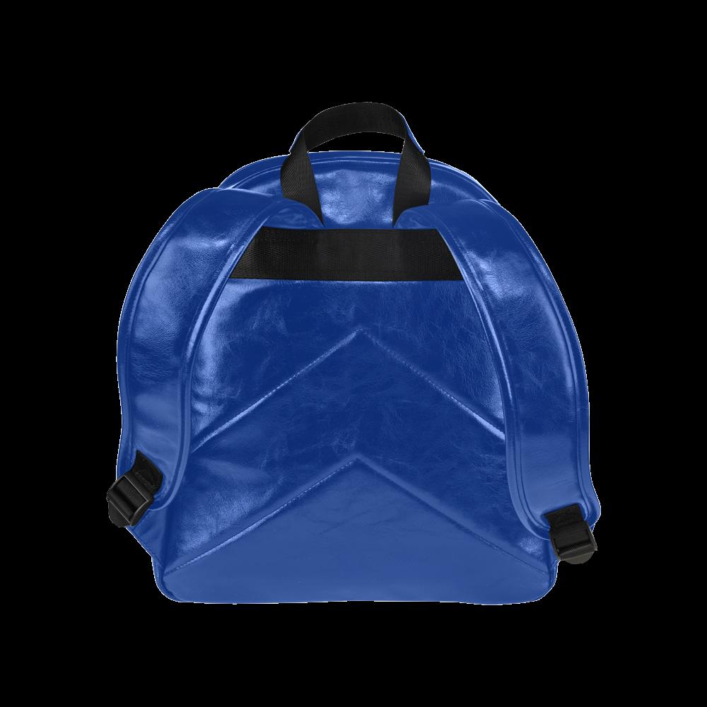 Blue Bubble Pop Multi-Pockets Backpack (Model 1636)