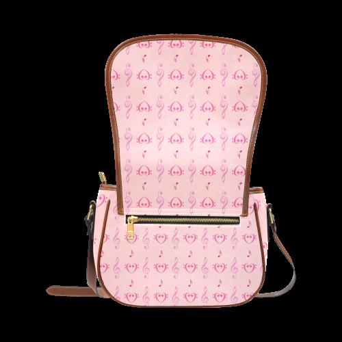 Pink Musical Saddle Bag/Large (Model 1649)