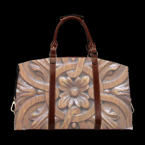 Flower Tile Classic Travel Bag (Model 1643)
