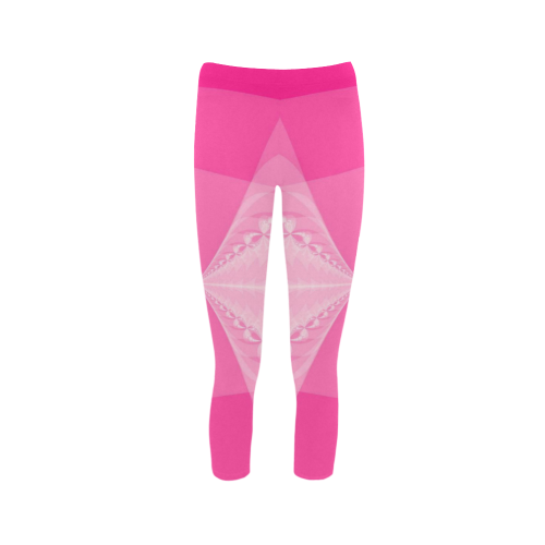 Pink Arrows Capri Legging (Model L02)
