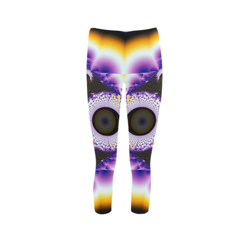 Wing Span Capri Legging (Model L02)