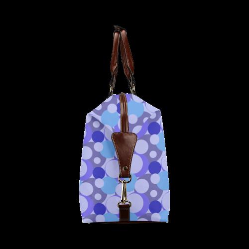 Blue Bubble Pop Classic Travel Bag (Model 1643)