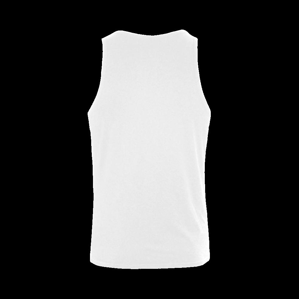 Carpe Noctem Seize the Night Plus-size Men's Shoulder-Free Tank Top (Model T33)