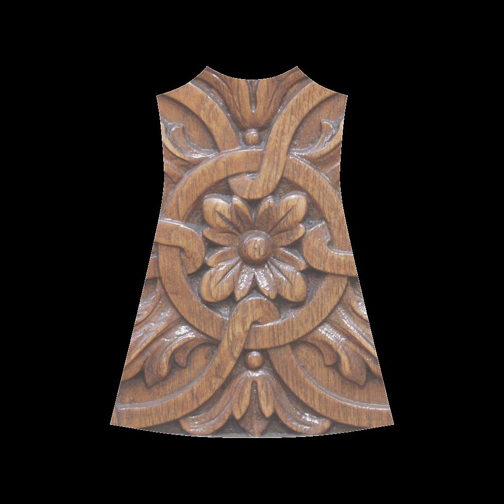 Flower Tile Alcestis Slip Dress (Model D05)
