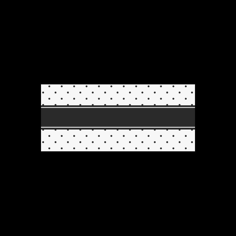 Black Dots White Ribbon your Name Manchester Sports Bottle(22OZ)