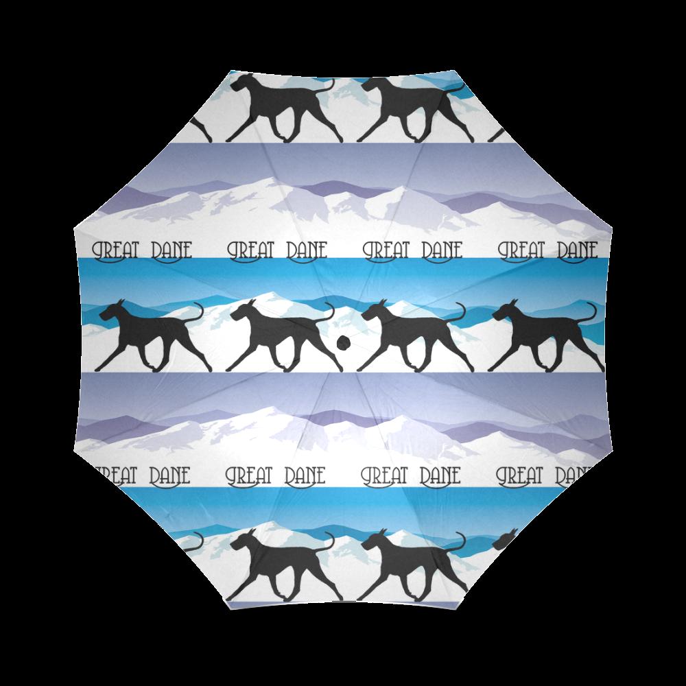 Great Dane Rockin The Rockies Foldable Umbrella (Model U01)