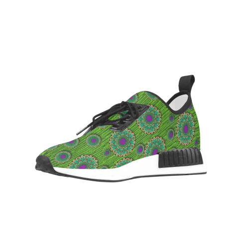 landscape and scenery in the peacock forest Men's Draco Running Shoes (Model 025)