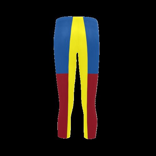 Primary Colours Capri Legging (Model L02)