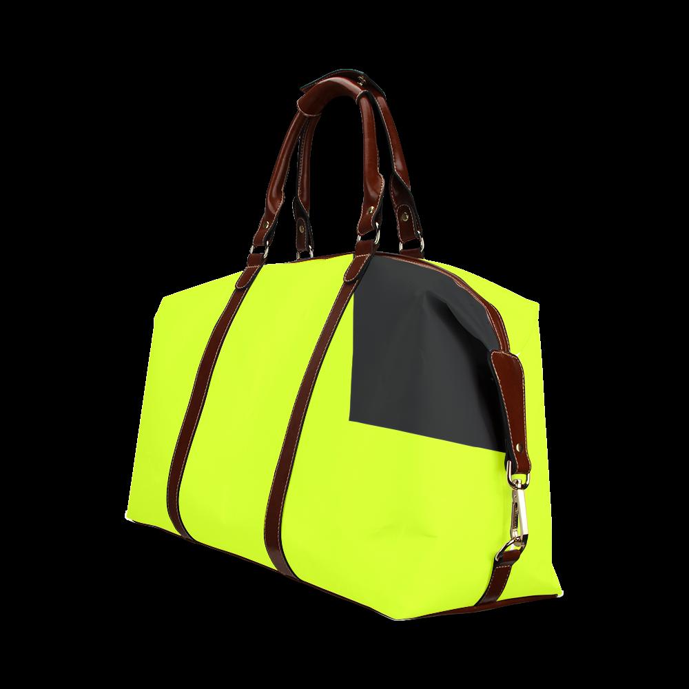 Retro in Green Neon Classic Travel Bag (Model 1643)