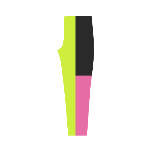 Retro Style Capri Legging (Model L02)