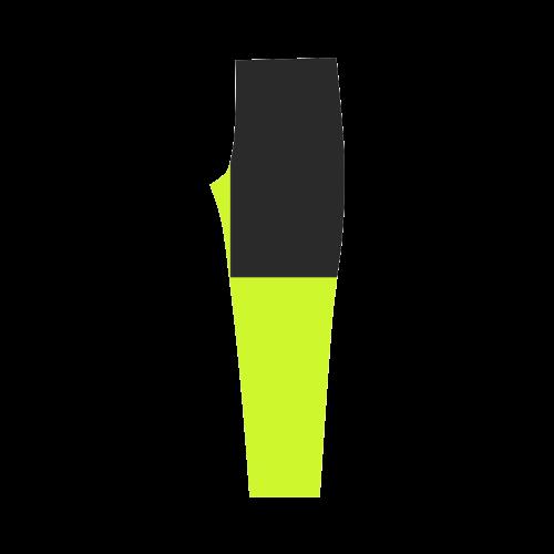Retro in Green Neon Capri Legging (Model L02)