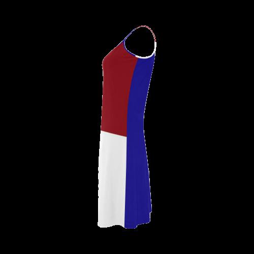French Flag Alcestis Slip Dress (Model D05)