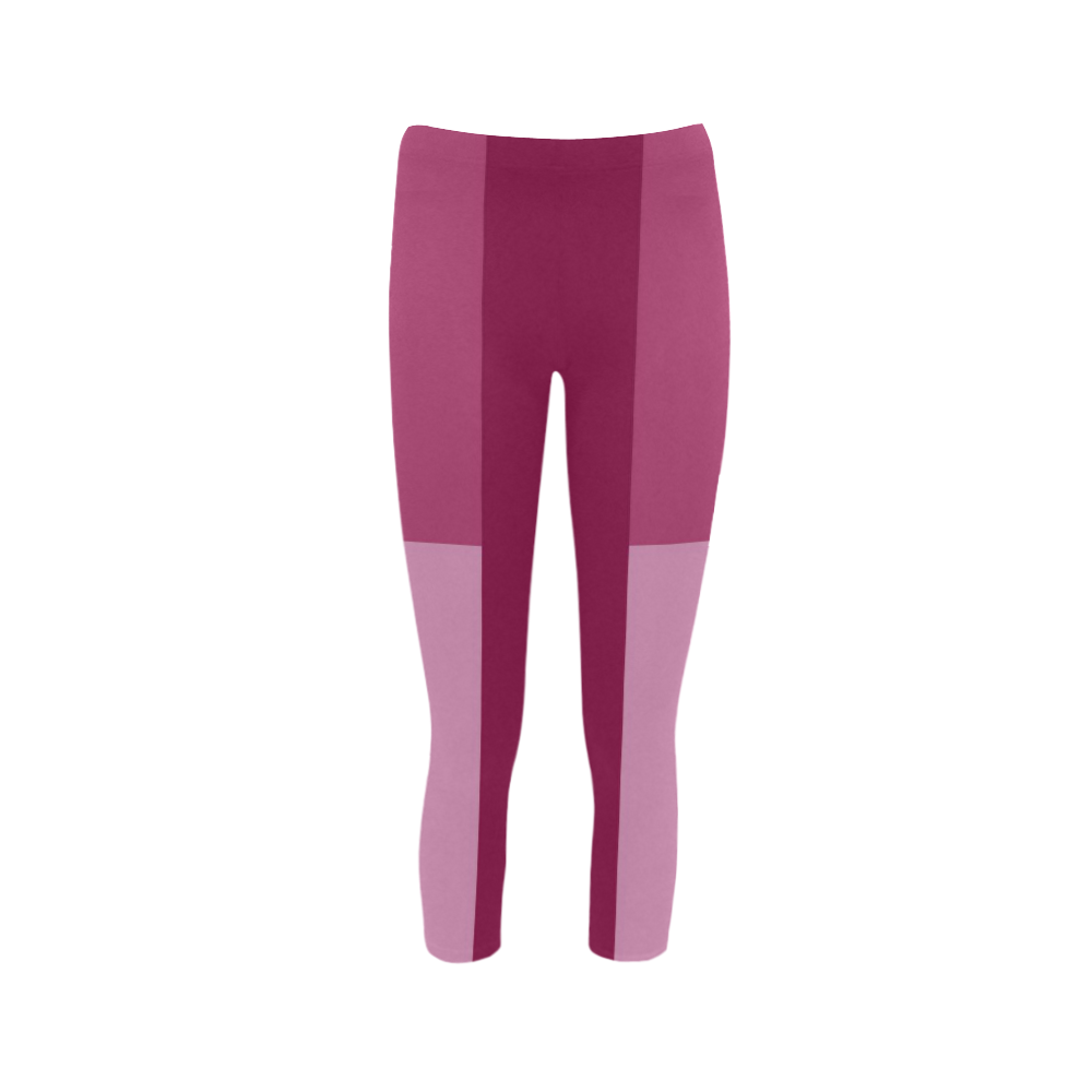 Dusty Rose Capri Legging (Model L02)