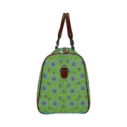landscape and scenery in the peacock forest Waterproof Travel Bag/Small (Model 1639)