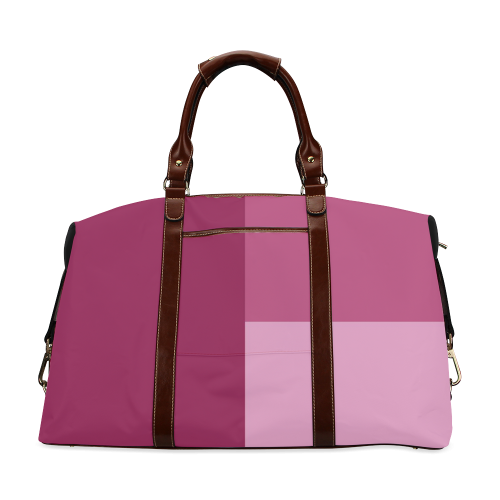 Dusty Rose Classic Travel Bag (Model 1643)