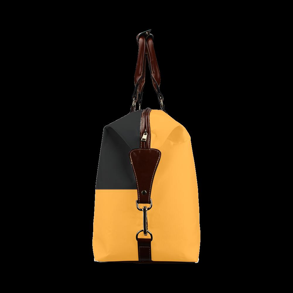 Retro in Orange Classic Travel Bag (Model 1643)