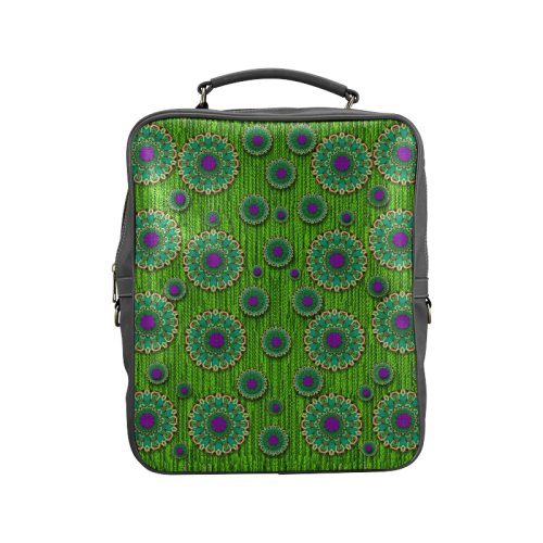 landscape and scenery in the peacock forest Square Backpack (Model 1618)