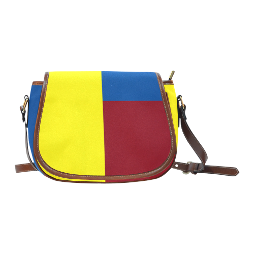 Primary Colours Saddle Bag/Large (Model 1649)