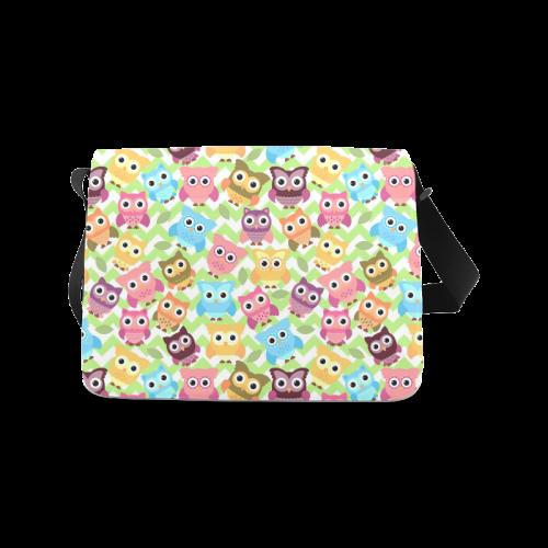 Adorable Owls Messenger Bag (Model 1628)