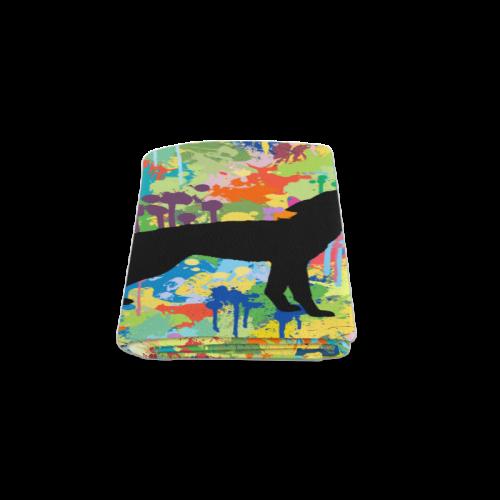 "Free Wolf Colorful Splash Blanket 50""x60"""