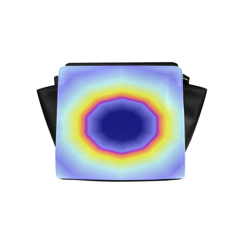 Blue Tiedye Satchel Bag (Model 1635)