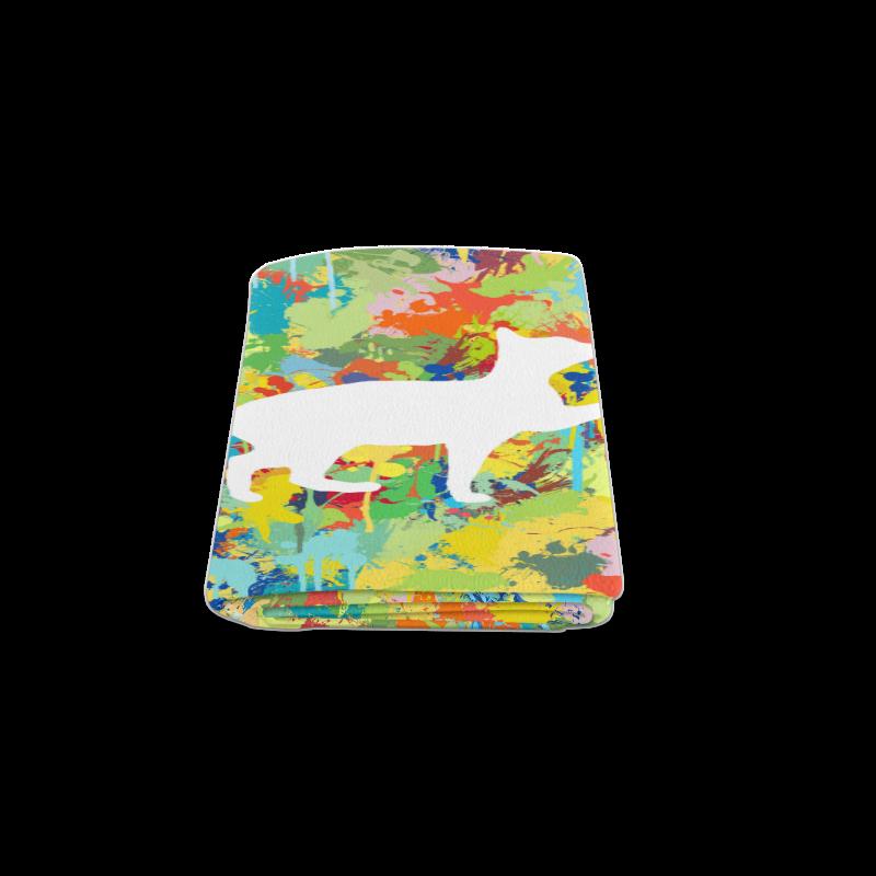 """Lovely Cat Colorful Splash Complet Blanket 50""""x60"""""""