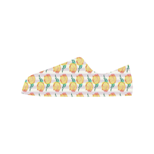 Dragon Fruit Aquila Microfiber Leather Women's Shoes (Model 028)