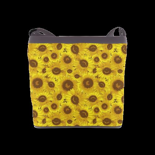 Bouquet of Sunflowers Crossbody Bags (Model 1613)
