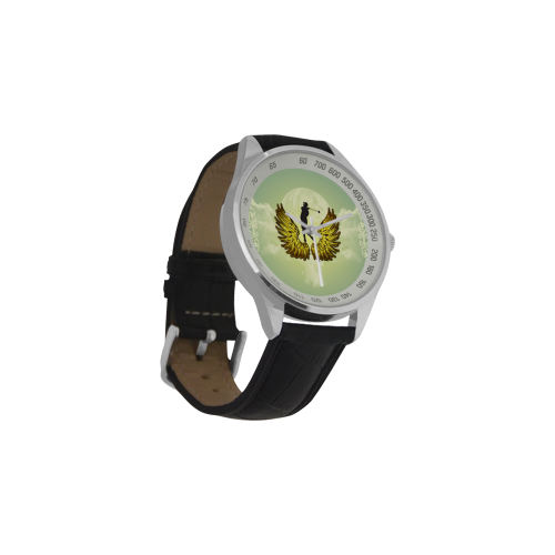 Sport, golf Men's Leather Strap Analog Watch(Model 209)