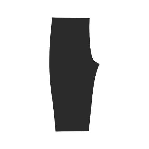 Black and White in Harmonie Hestia Cropped Leggings (Model L03)