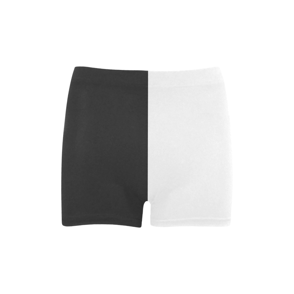 Black and White in Harmony Briseis Skinny Shorts (Model L04)