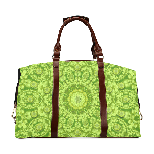Magic Flowers In  the deep valley of paradise Classic Travel Bag (Model 1643)