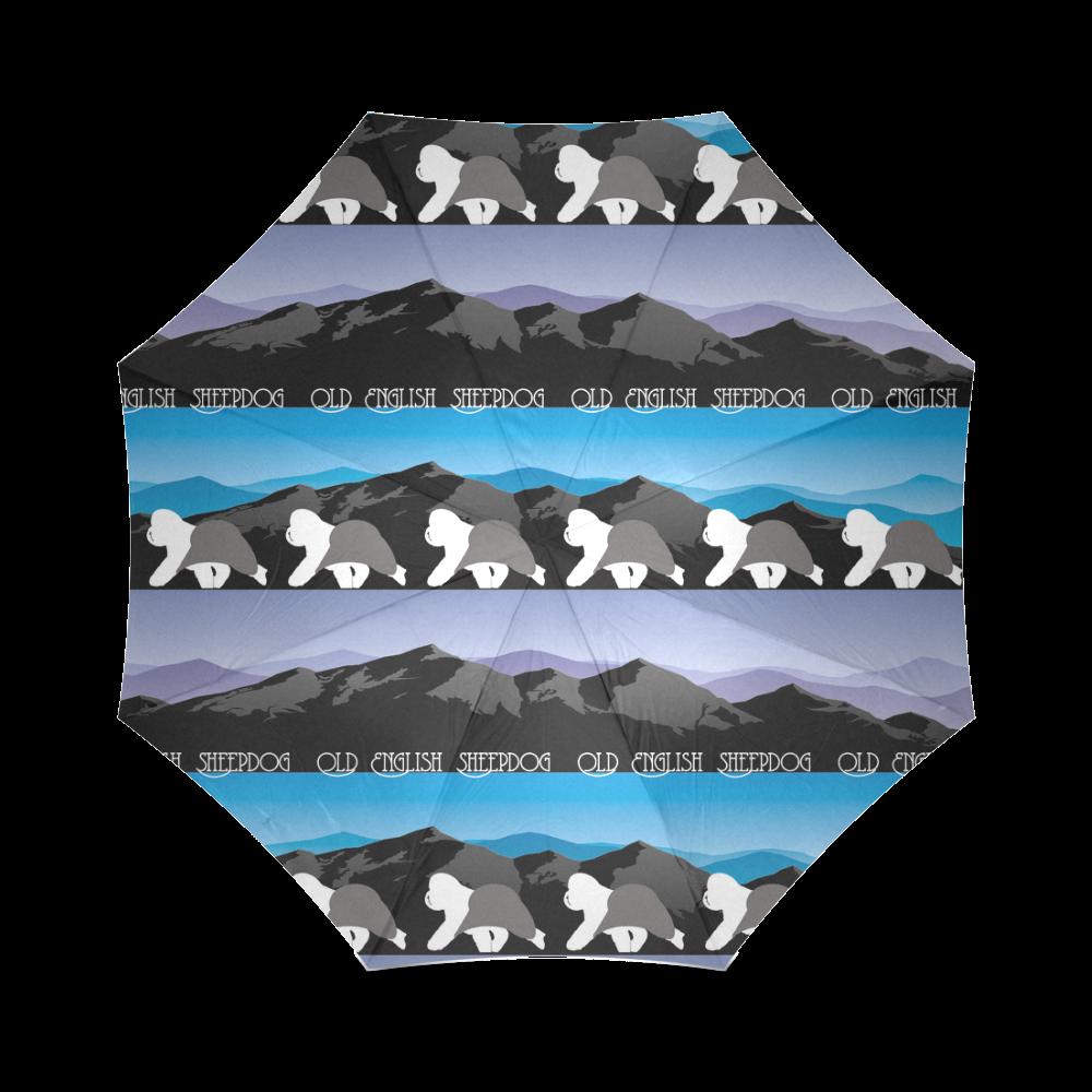 OES Rockin the Rockies Foldable Umbrella (Model U01)