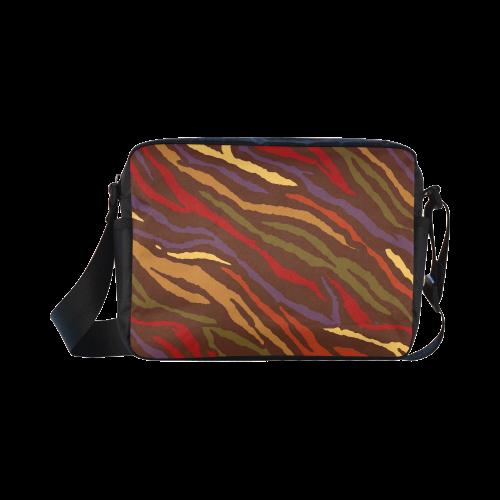 Fall Animal Print Classic Cross-body Nylon Bags (Model 1632)