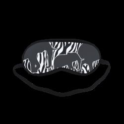 ELEPHANTS to ZEBRA stripes black & white Sleeping Mask