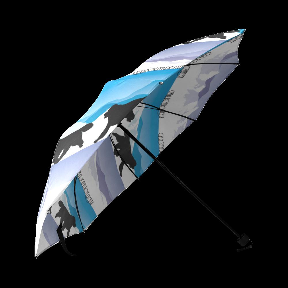 Newfoundland Rockin The Rockies Foldable Umbrella (Model U01)