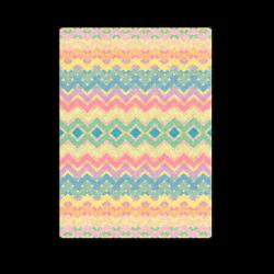 "Summer-color Chevron 2 Blanket 58""x80"""