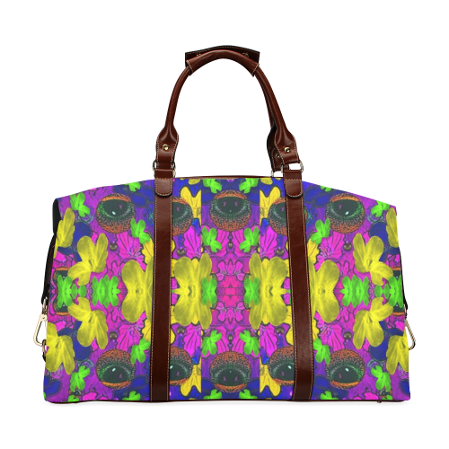 Eyes in the dark popart Classic Travel Bag (Model 1643)