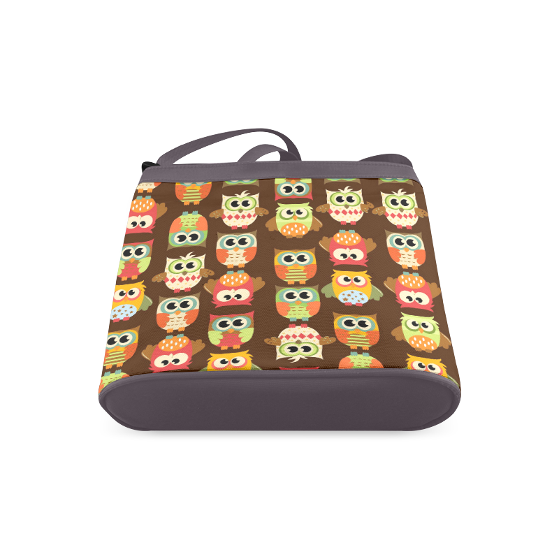 Autumn Owls Crossbody Bags (Model 1613)