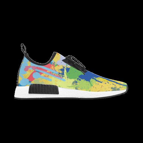 Colorful Splash Design Women's Draco Running Shoes (Model 025)