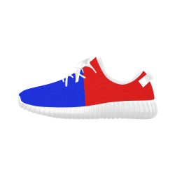 Only two Colors: Fire Red - Royal Blue Grus Men's Breathable Woven Running Shoes (Model 022)