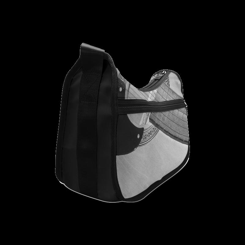 Guitar Face Crossbody Bags (Model 1616)