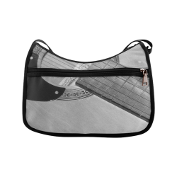 Guitar Face Crossbody Bags (Model 1616)