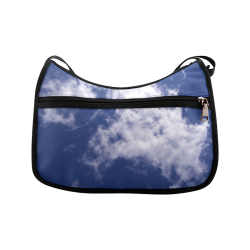 Pulled Cotton Clouds Crossbody Bags (Model 1616)